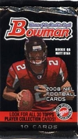 2008 Bowman NFL Football Cards Hobby Pack