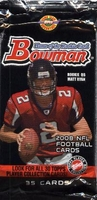 2008 Bowman NFL Football Cards HTA Hobby Jumbo Pack