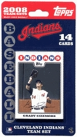 2008 Cleveland Indians Topps MLB Factory Baseball Cards Team Set