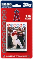 2008 Los Angeles Angels Topps MLB Factory Baseball Cards Team Set