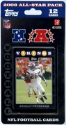 2008 Mini All-Star Topps NFL Factory Football Cards Set