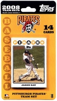2008 Pittsburgh Pirates Topps MLB Factory Baseball Cards Team Set
