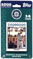 2008 Seattle Mariners Topps MLB Factory Baseball Cards Team Set