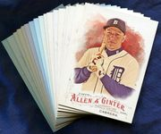 2016 Topps Allen and Ginter Detroit Tigers Baseball Cards