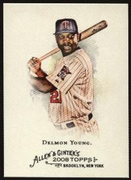 2008 Topps Allen and Ginter Delmon Young Baseball Card