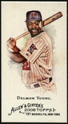 2008 Topps Allen and Ginter Mini Delmon Young Baseball Card