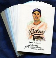 2008 Topps Allen and Ginter San Diego Padres Baseball Card Team Set