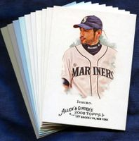 2008 Topps Allen and Ginter Seattle Mariners Baseball Card Team Set
