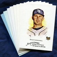 2008 Topps Allen and Ginter Tampa Bay Rays Baseball Card Team Set