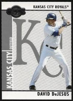 2008 Topps Co-Signers David DeJesus Baseball Card