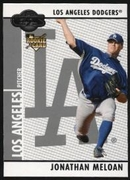2008 Topps Co-Signers Jonathan Meloan Rookie Baseball Card