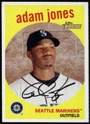 2008 Topps Heritage Adam Jones Baseball Card