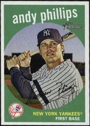 2008 Topps Heritage Andy Phillips Baseball Card