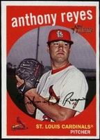 2008 Topps Heritage Anthony Reyes Baseball Card