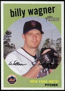 2008 Topps Heritage Billy Wagner Baseball Card
