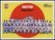2008 Topps Heritage Boston Red Sox Team Baseball Card