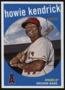2008 Topps Heritage Howie Kendrick Baseball Card