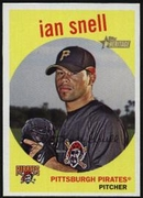2008 Topps Heritage Ian Snell Baseball Card