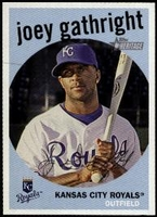 2008 Topps Heritage Joey Gathright Baseball Card
