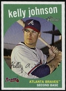 2008 Topps Heritage Kelly Johnson Baseball Card