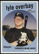 2008 Topps Heritage Lyle Overbay Baseball Card