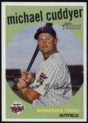 2008 Topps Heritage Michael Cuddyer Baseball Card
