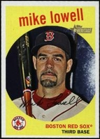 2008 Topps Heritage Mike Lowell Baseball Card