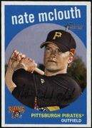 2008 Topps Heritage Nate McLouth Baseball Card