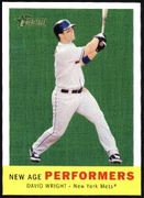 2008 Topps Heritage New Age Performers David Wright Baseball Card