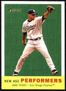 2008 Topps Heritage New Age Performers Jake Peavy Baseball Card