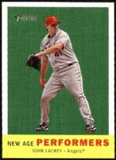 2008 Topps Heritage New Age Performers John Lackey Baseball Card