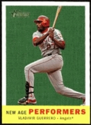 2008 Topps Heritage New Age Performers Vladimir Guerrero Baseball Card