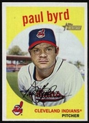 2008 Topps Heritage Paul Byrd Baseball Card