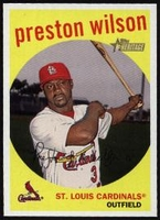 2008 Topps Heritage Preston Wilson Baseball Card