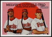 2008 Topps Heritage Young - Upton - Byrnes Baseball Card