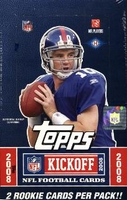 2008 Topps Kickoff NFL Football Cards Hobby Box