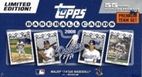 2008 Topps Los Angeles Dodgers Limited Edition 55 Card Premium Gift Baseball Cards Team Set