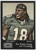 2008 Topps Mayo Ernest Wilford NFL Football Card