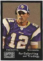 2008 Topps Mayo Gus Frerotte NFL Football Card