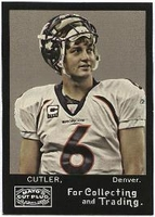 2008 Topps Mayo Jay Cutler NFL Football Card