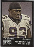2008 Topps Mayo Kevin Williams NFL Football Card