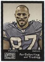 2008 Topps Mayo Mike Furrey NFL Football Card