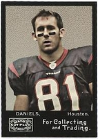 2008 Topps Mayo Owen Daniels NFL Football Card