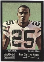 2008 Topps Mayo Ryan Grant NFL Football Card