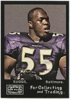 2008 Topps Mayo Terrell Suggs NFL Football Card