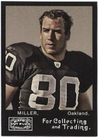 2008 Topps Mayo Zach Miller NFL Football Card