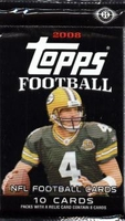 2008 Topps NFL Football Cards Hobby Pack