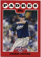 2008 Topps Opening Day Chris Young Baseball Card