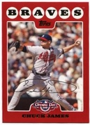 2008 Topps Opening Day Chuck James Baseball Card