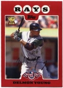 2008 Topps Opening Day Delmon Young Baseball Card